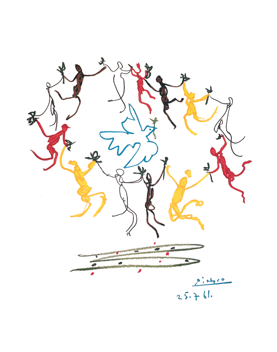 Pablo_Picasso-Dance_of_youth